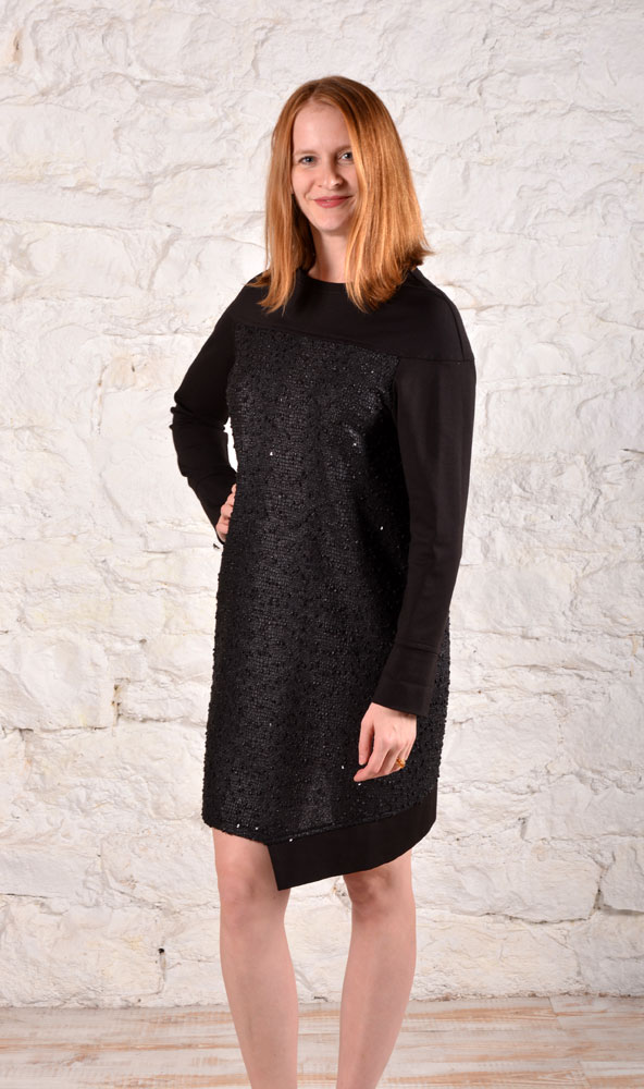 BristolDress BlackSequinWEB3