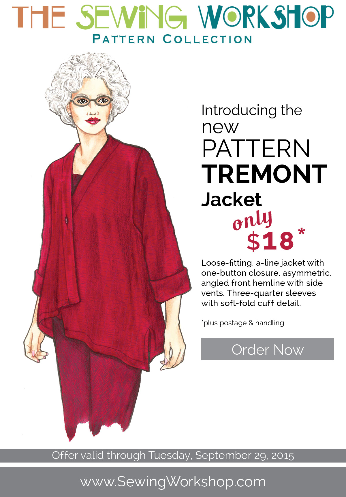 EmailUpdates2015 Tremont, Pattern Debut