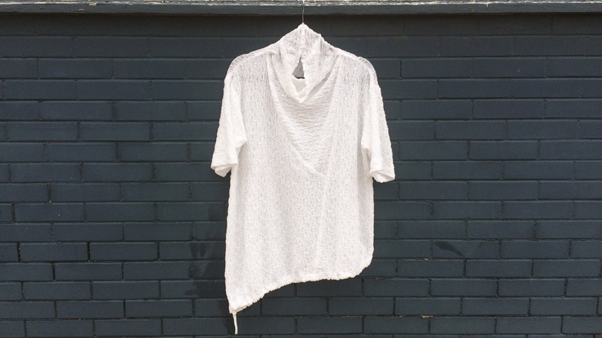 Crinkled Cotton Barcelona Top