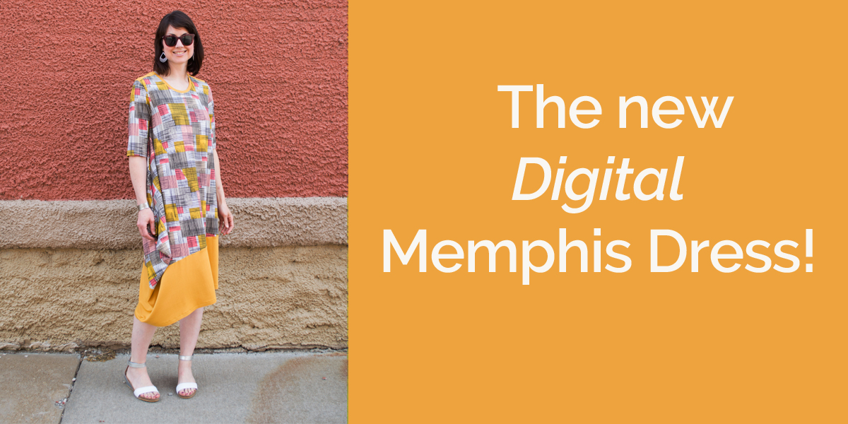 The Memphis Dress - Now Available as a Digital Pattern