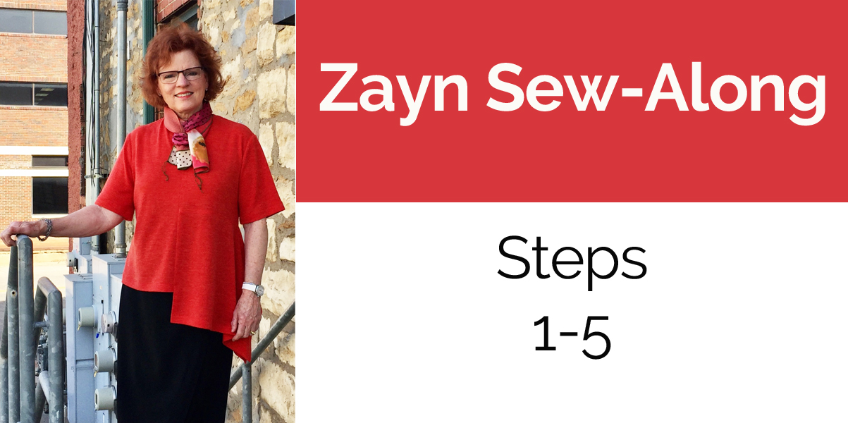 Zayn Shirt Sew-Along Part 2