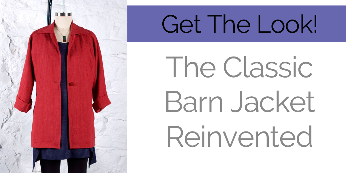 Get the Look: Sew a Barn Jacket using the Chicago pattern