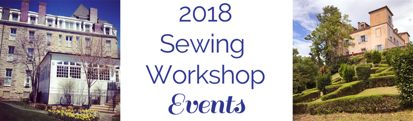 Sewing Events for 2018!