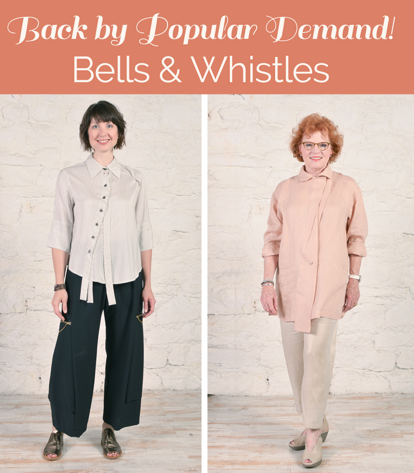 The Bells & Whistles Shirt pattern is back!
