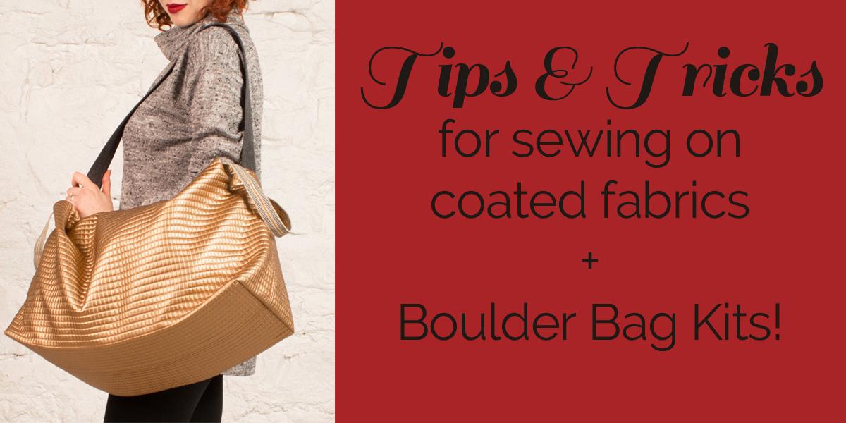 Sewing Coated Fabrics