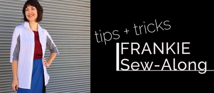 Frankie Shirt Sew Along Part Five: Shoulders and Collar