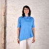 Lightweight linen gauze Barcelona Top