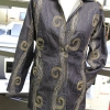 Chicago jacket made with embellished fabric