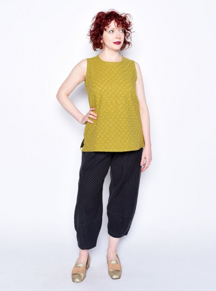 Cotton Picasso Pants work with MixIt Tank