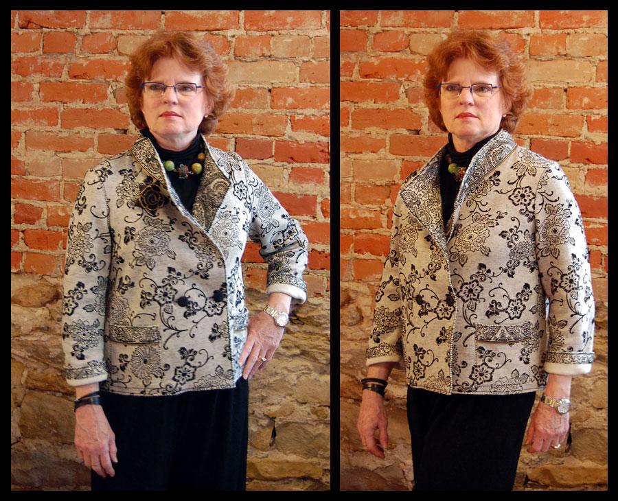 Sweater Knit Verona Jacket-Free Tutorial